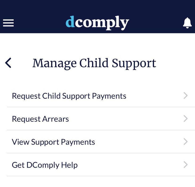 pay child support online